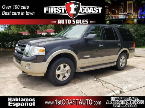 2007 Ford Expedition for sale at 1st Coast Auto -Cassat Avenue in Jacksonville FL