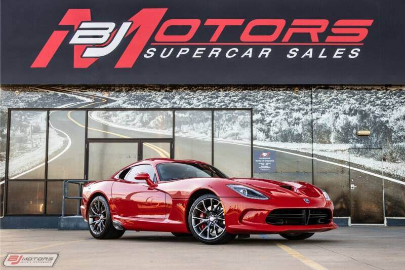2013 Dodge SRT Viper for sale at BJ Motors in Tomball TX