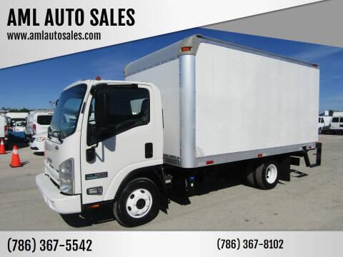 2012 Isuzu NPR for sale at AML AUTO SALES - Box trucks in Opa-Locka FL