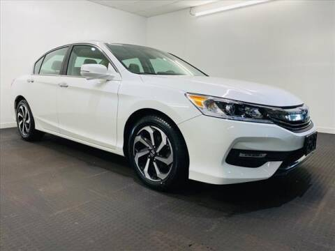 2017 Honda Accord for sale at Champagne Motor Car Company in Willimantic CT