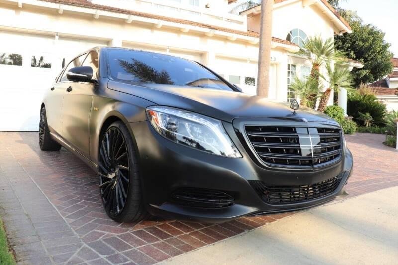 2016 Mercedes-Benz S-Class for sale at Newport Motor Cars llc in Costa Mesa CA