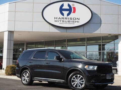 2015 Dodge Durango for sale at Harrison Imports in Sandy UT