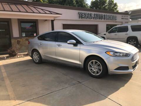 2014 Ford Fusion for sale at Texas Auto Broker in Killeen TX