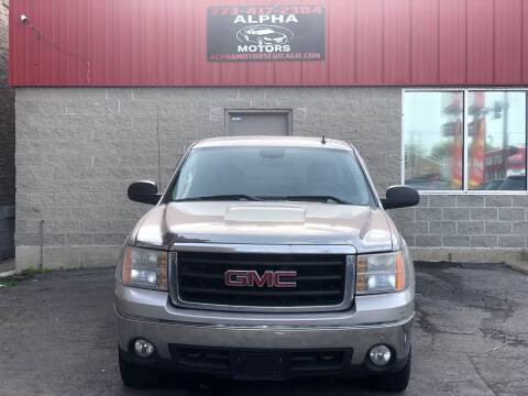 2008 GMC Sierra 1500 for sale at Alpha Motors in Chicago IL