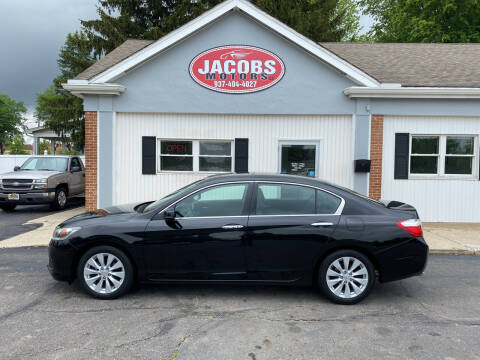 2015 Honda Accord for sale at Jacobs Motors LLC in Bellefontaine OH