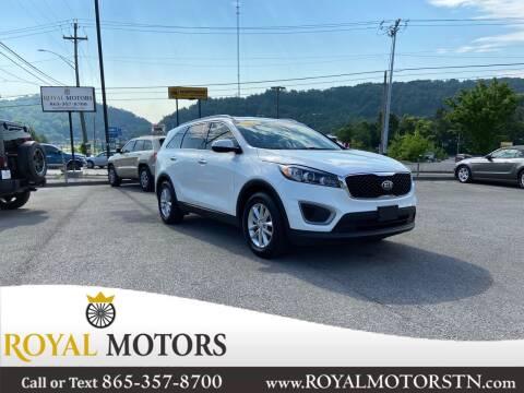 2016 Kia Sorento for sale at ROYAL MOTORS LLC in Knoxville TN