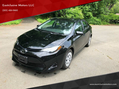 2019 Toyota Corolla for sale at Eastclusive Motors LLC in Hasbrouck Heights NJ