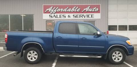 2006 Toyota Tundra for sale at Affordable Auto Sales & Service in Berkeley Springs WV