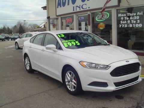 2013 Ford Fusion for sale at G & L Auto Sales Inc in Roseville MI