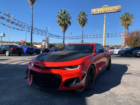 2017 Chevrolet Camaro for sale at A MOTORS SALES AND FINANCE - 5630 San Pedro Ave in San Antonio TX