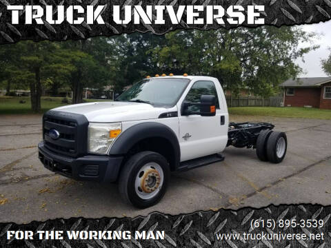 2012 Ford F-550 Super Duty for sale at TRUCK UNIVERSE in Murfreesboro TN