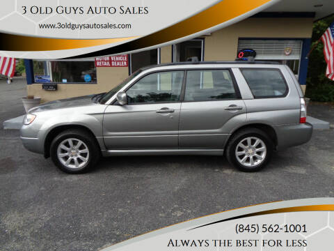 2007 Subaru Forester for sale at 3 Old Guys Auto Sales in Newburgh NY