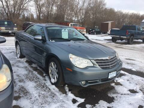 2008 Chrysler Sebring for sale at BARNES AUTO SALES in Mandan ND