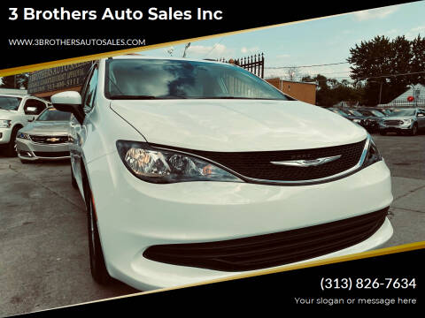 2020 Chrysler Voyager for sale at 3 Brothers Auto Sales Inc in Detroit MI