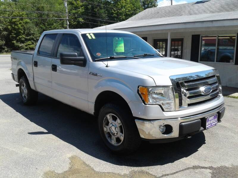 2011 Ford F-150 for sale at Quest Auto Outlet in Chichester NH