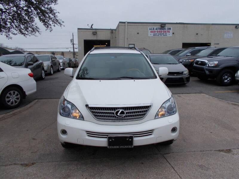 2008 Lexus RX 400h for sale at ACH AutoHaus in Dallas TX