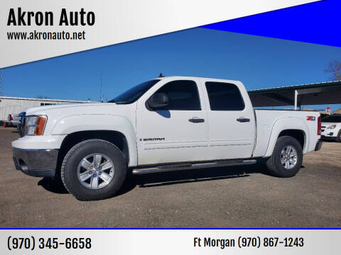 2007 GMC Sierra 1500 for sale at Akron Auto in Akron CO
