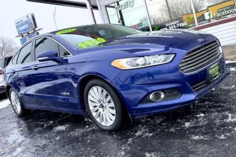 2015 Ford Fusion Hybrid for sale at Island Auto in Grand Island NE