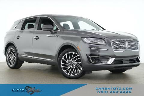 2019 Lincoln Nautilus for sale at JumboAutoGroup.com - Carsntoyz.com in Hollywood FL