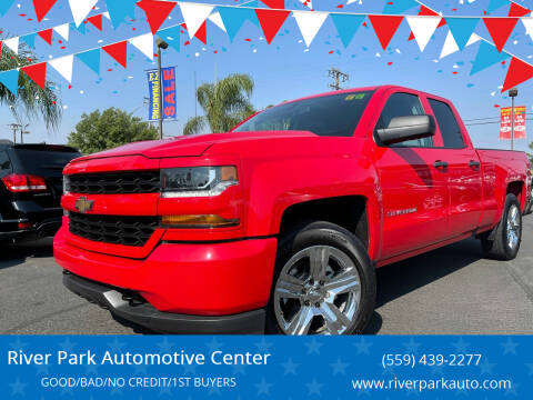 2018 Chevrolet Silverado 1500 for sale at River Park Automotive Center in Fresno CA