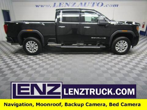 2020 GMC Sierra 2500HD for sale at LENZ TRUCK CENTER in Fond Du Lac WI