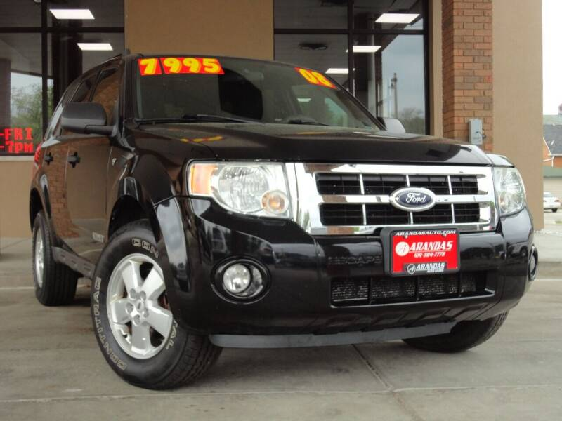 2008 Ford Escape for sale at Arandas Auto Sales in Milwaukee WI