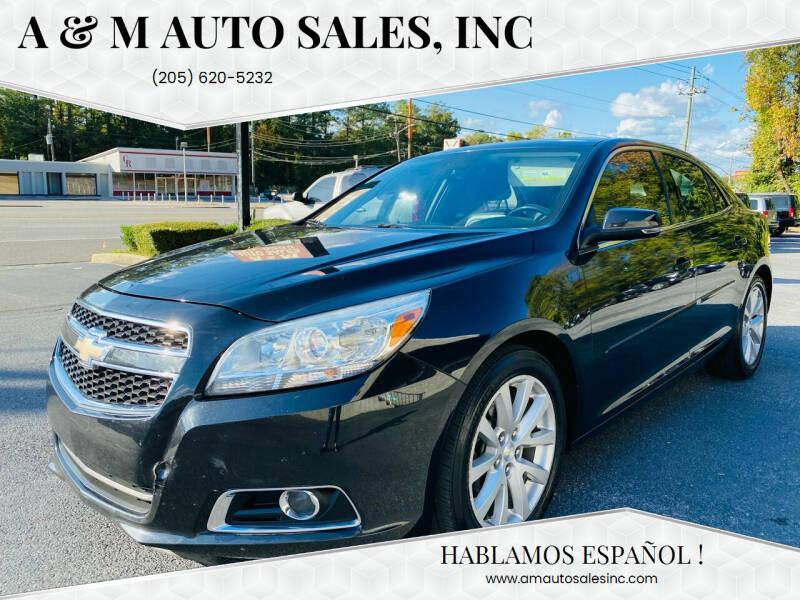 2013 Chevrolet Malibu for sale at A & M Auto Sales, Inc in Alabaster AL