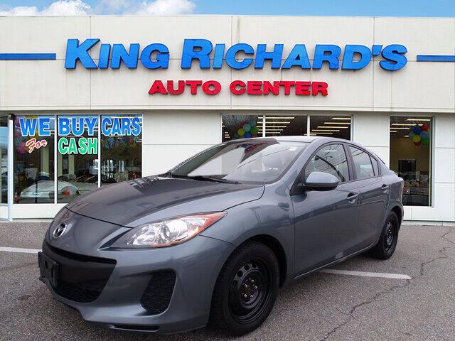 2012 Mazda MAZDA3 for sale at KING RICHARDS AUTO CENTER in East Providence RI