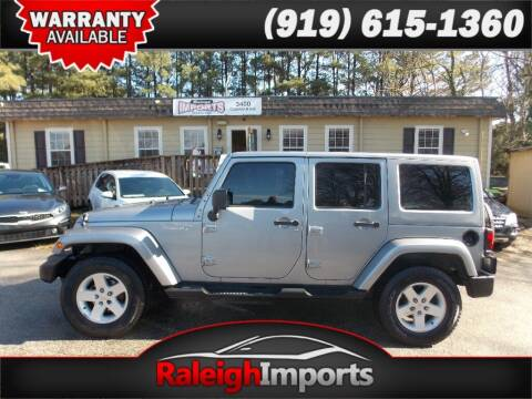 2013 Jeep Wrangler Unlimited for sale at Raleigh Imports in Raleigh NC