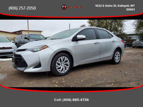 2017 Toyota Corolla for sale at Auto Solutions in Kalispell MT