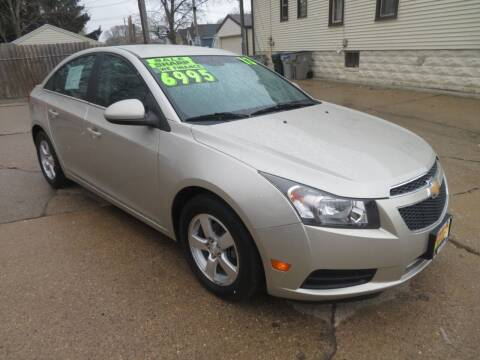 2013 Chevrolet Cruze for sale at Uno's Auto Sales in Milwaukee WI