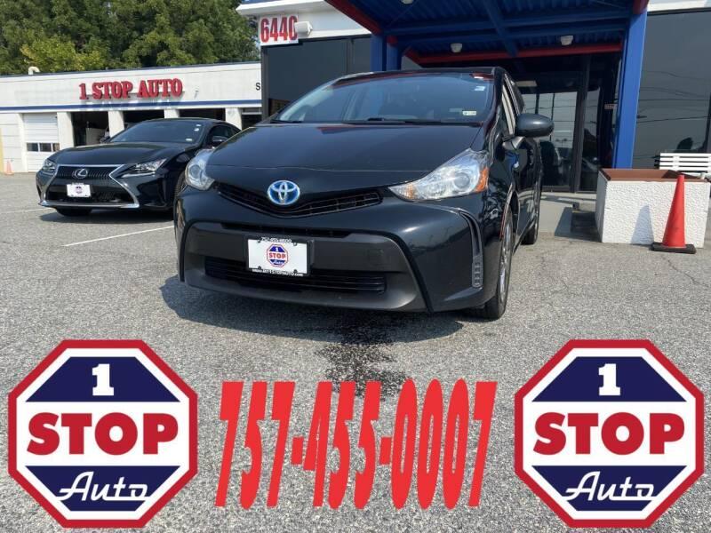 2017 Toyota Prius v for sale at 1 Stop Auto in Norfolk VA