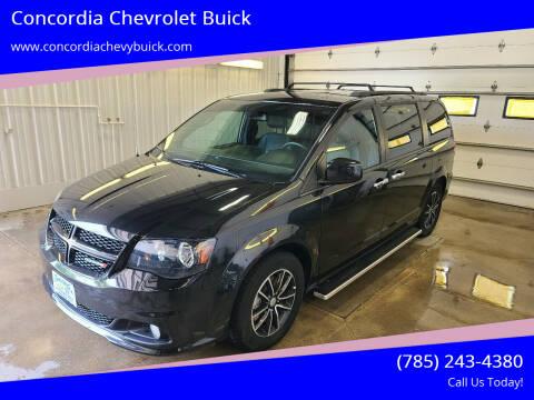 2018 Dodge Grand Caravan for sale at Concordia Chevrolet Buick in Concordia KS