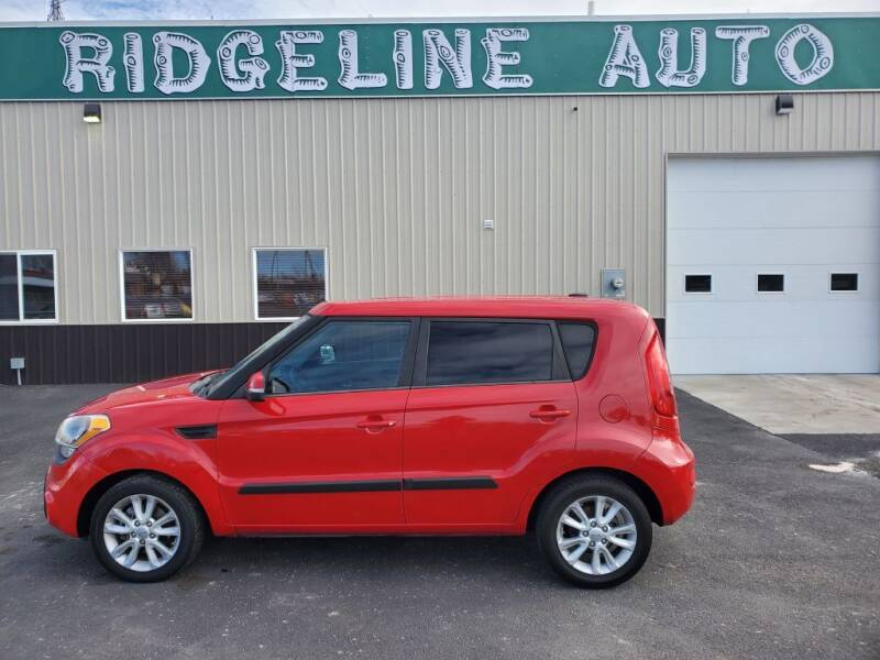 2012 Kia Soul for sale at RIDGELINE AUTO in Chubbuck ID