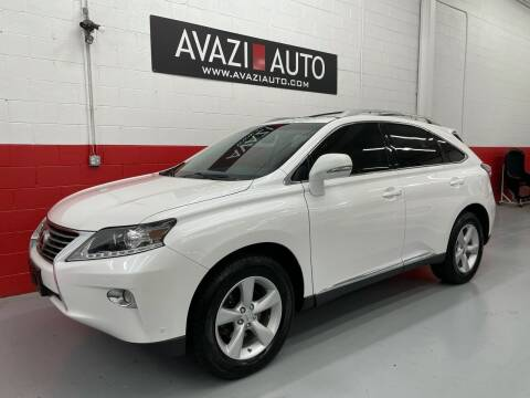 2013 Lexus RX 350 for sale at AVAZI AUTO GROUP LLC in Gaithersburg MD