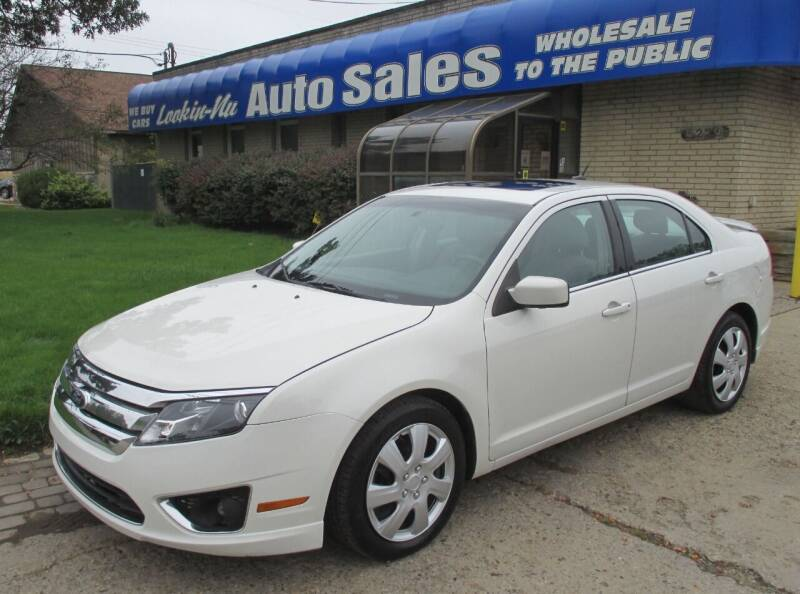 2011 Ford Fusion for sale at Lookin-Nu Auto Sales in Waterford MI