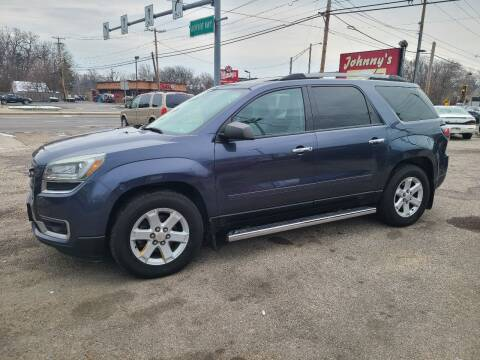 2013 GMC Acadia for sale at Johnny's Motor Cars in Toledo OH