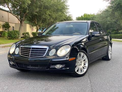 2008 Mercedes-Benz E-Class for sale at Presidents Cars LLC in Orlando FL