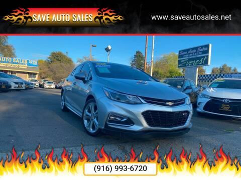 2017 Chevrolet Cruze for sale at Save Auto Sales in Sacramento CA