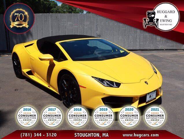 2019 Lamborghini Huracan for sale in Stoughton, MA