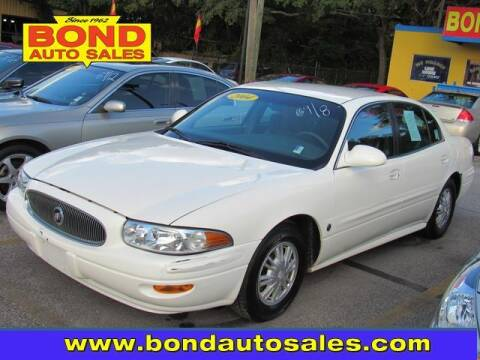 2004 Buick LeSabre for sale at Bond Auto Sales in St Petersburg FL
