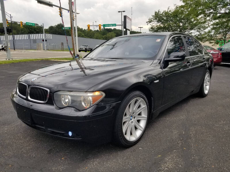2004 BMW 7 Series for sale at Cedar Auto Group LLC in Akron OH
