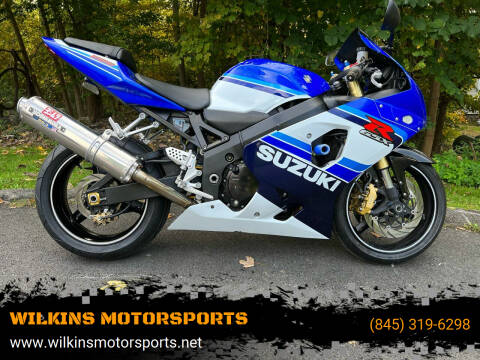 2005 Suzuki GSX-R750 for sale at WILKINS MOTORSPORTS in Brewster NY