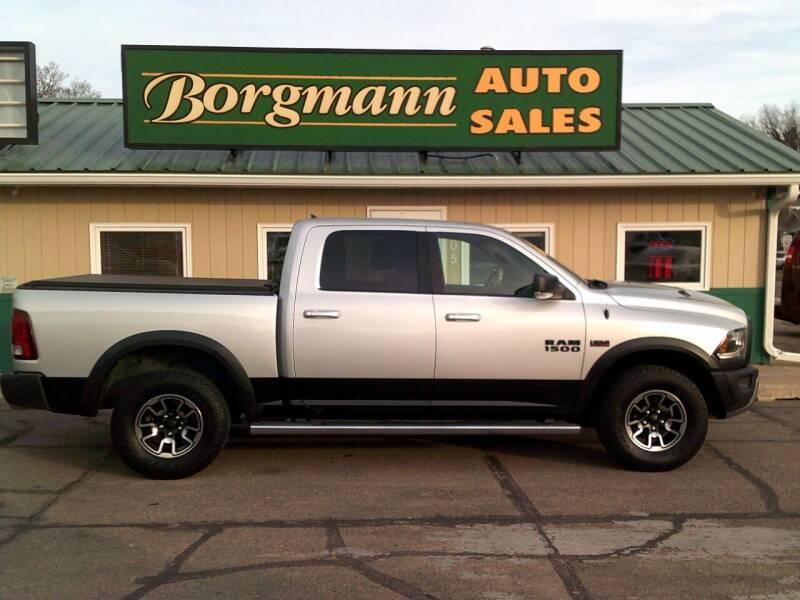 2015 RAM Ram Pickup 1500 for sale at Borgmann Auto Sales in Norfolk NE