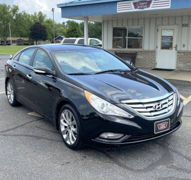 2012 Hyundai Sonata for sale at Clapper MotorCars in Janesville WI