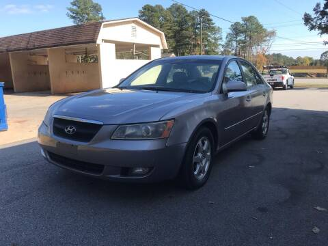 2006 Hyundai Sonata for sale at CAR STOP INC in Duluth GA