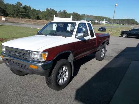 1990 Toyota Pickup for sale at Anderson Wholesale Auto in Warrenville SC