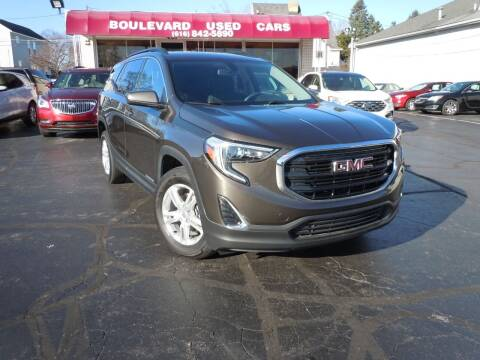 2019 GMC Terrain for sale at Boulevard Used Cars in Grand Haven MI