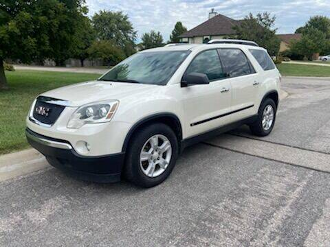 2009 GMC Acadia for sale at Wessel Family Motors in Valley Center KS