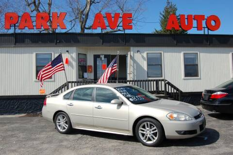 2010 Chevrolet Impala for sale at Park Ave Auto Inc. in Worcester MA
